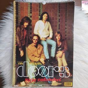 Vintage 1992 The Official Doors Calendar